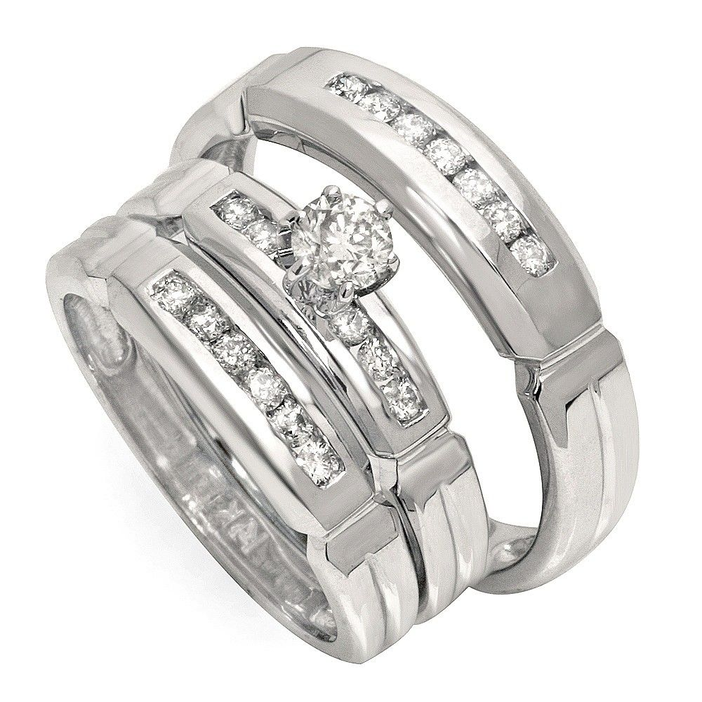 Wedding Ring Sets For Him And Her http//www