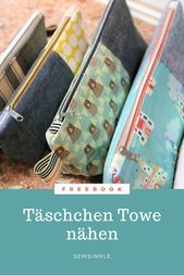Photo of Sewing toiletry bag for beginners: Towe small bag Sewing toiletry bag for …