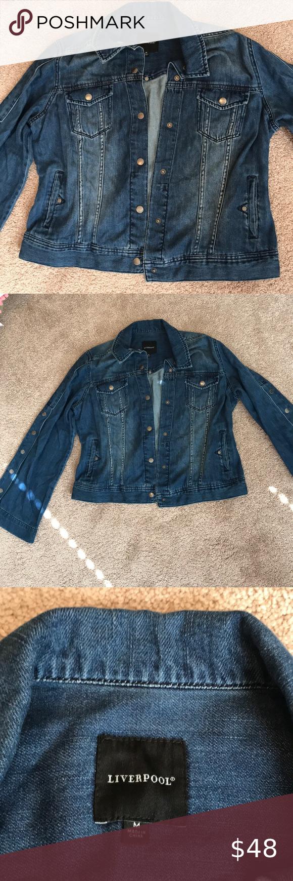 Bogo Jean Jacket Liverpool Jean Jacket Liverpool Jeans Jean Coat [ 1740 x 580 Pixel ]