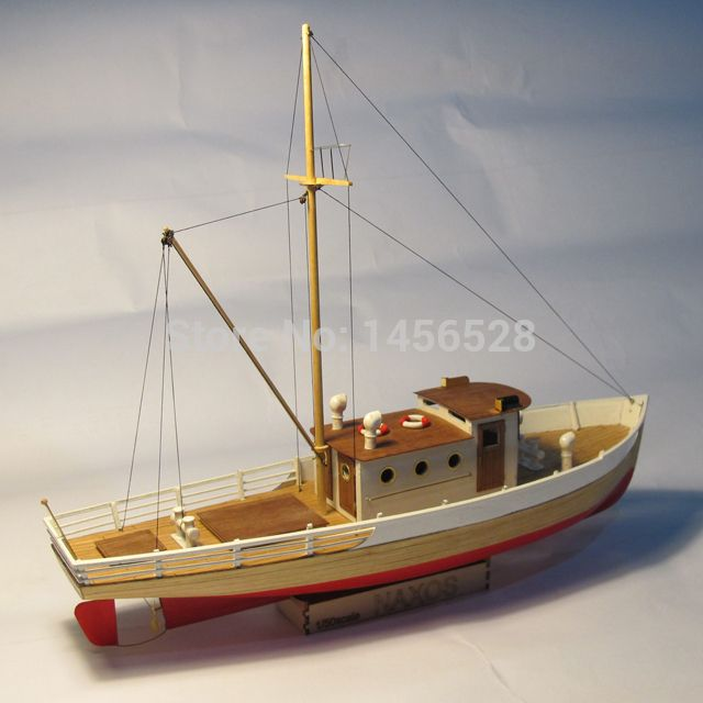Classic wooden sailing boat scale model wood scale ship 1 for Build fishing boat