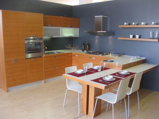 cucine moderne a ferro di cavallo - cerca con google | cucine ... - Tavolo Penisola Cucina