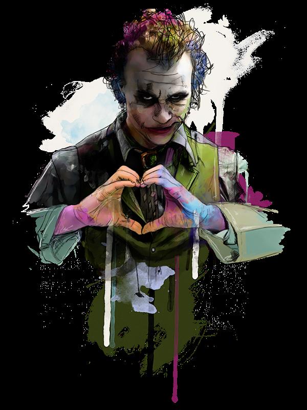 Vibrant Illustrations Of Cultural Icons By Katt Phat South African Artist Katt Phat Has Composed A Stunning Series Whi Joker Pics Joker Wallpapers Joker Images