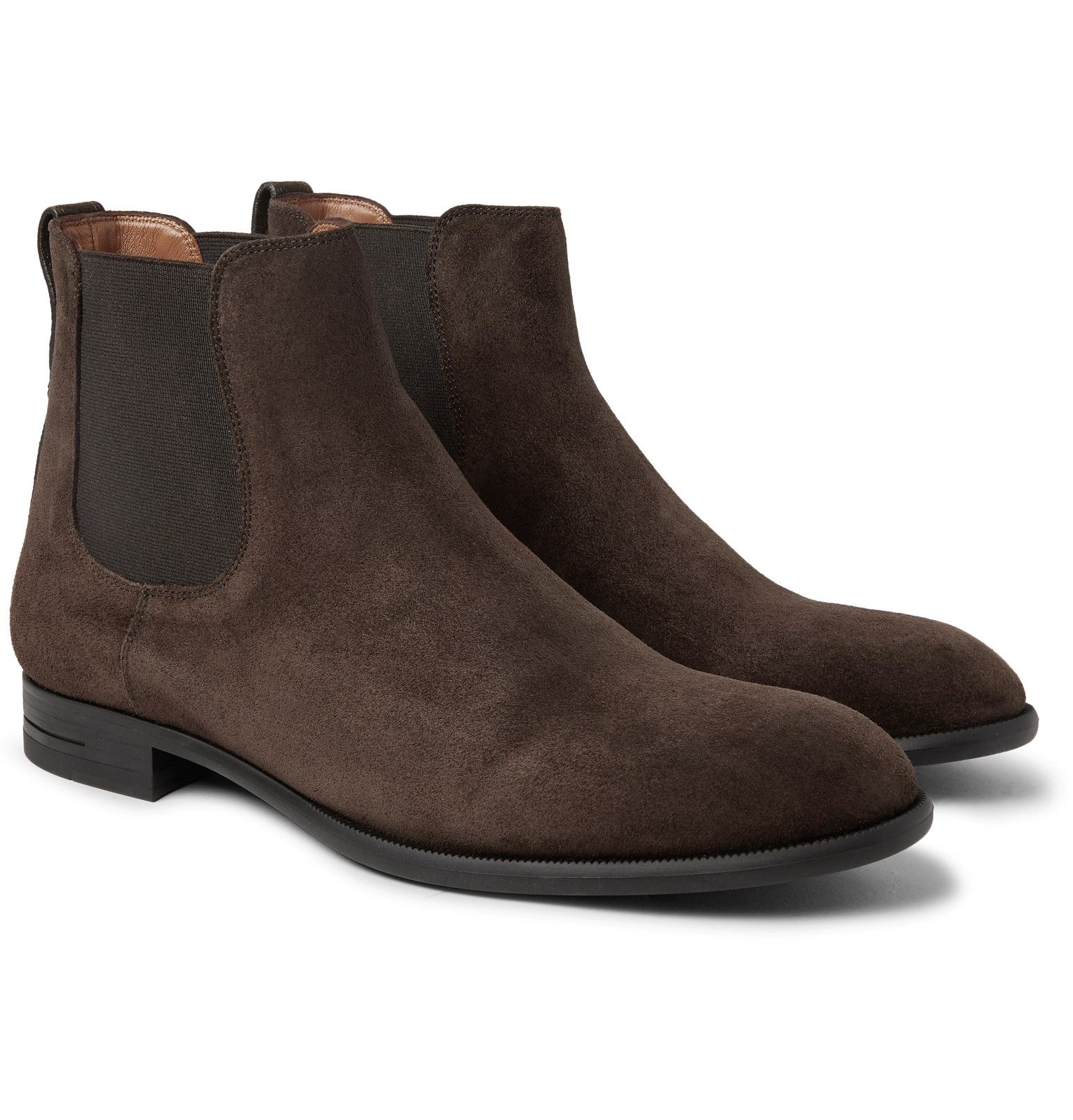 d51d74f9 Ermenegildo Zegna - Suede Chelsea Boots | Men's Shoes in 2019 | Mens ...