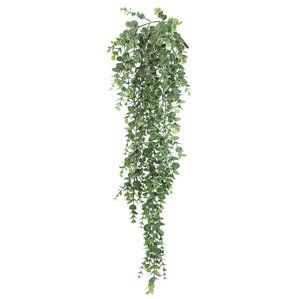 Hanging Mini Leaf Eucalyptus Bush Ivy Plant Hanging Plants Hanging Plants Indoor Small Artificial Plants