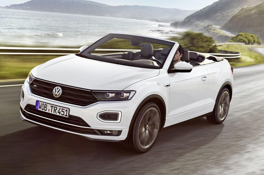 New Volkswagen T Roc Cabriolet Priced From 26 750 In 2020 Volkswagen Cabriolets Automobile
