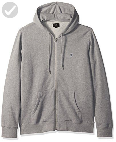 OBEY Men's Eighty Nine Icon Slim Fit Hooded Zip up Fleece