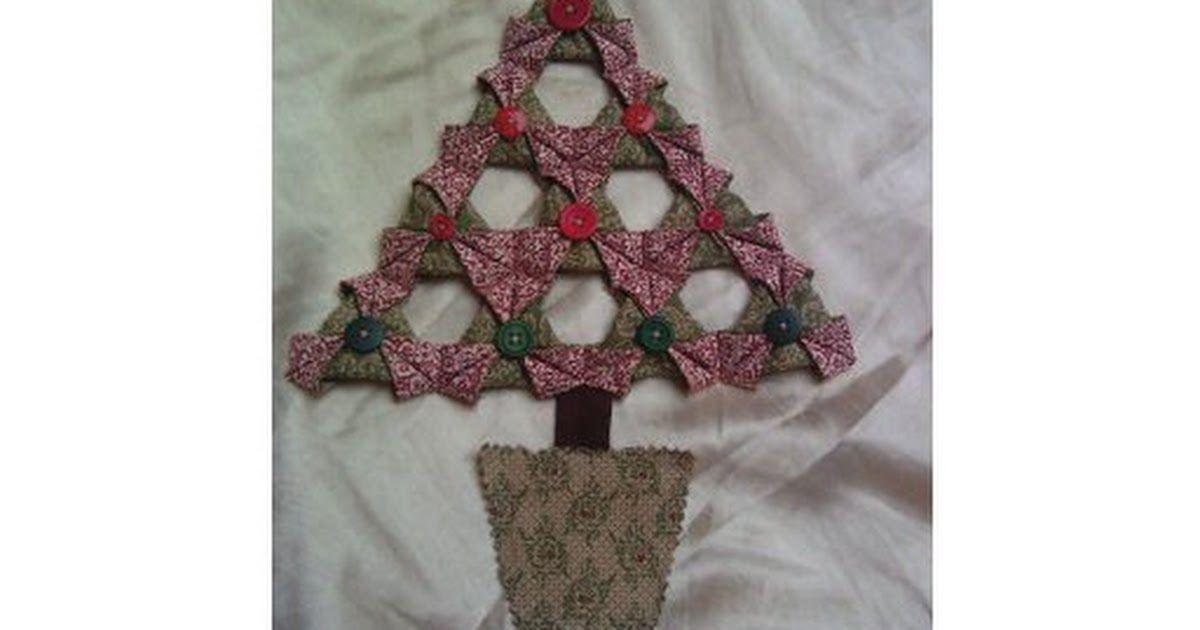 Japanese Folded Fabric Christmas Tree Tutorial.pdf