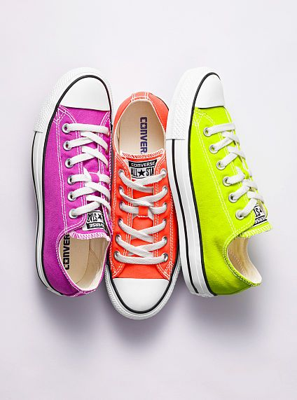 neon converse shoes