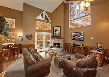Gatlinburg, TN United States - Creekside Chalet | Elk Springs Resort Gatlinburg Cabin Rentals