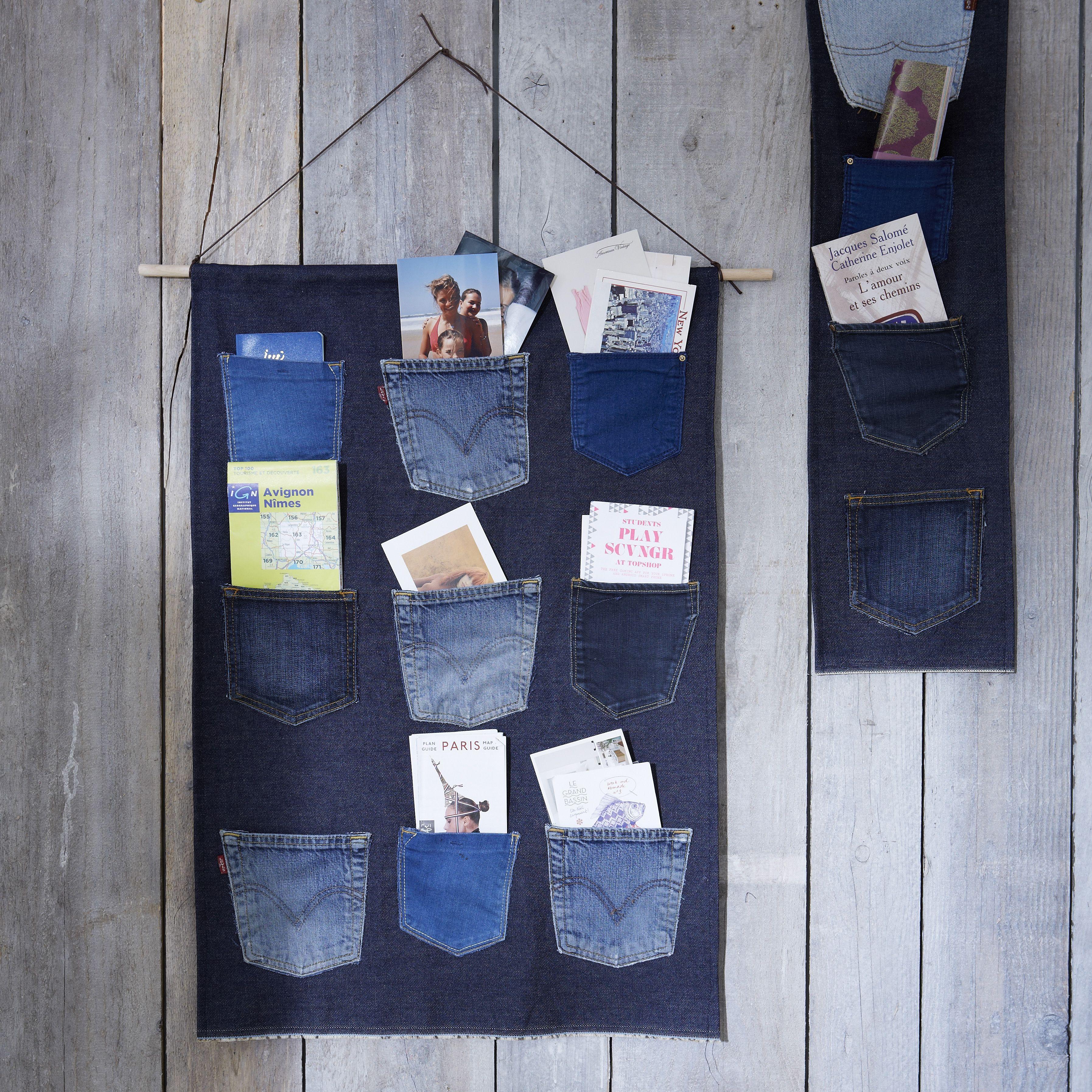 vide poche en jeans id es d co z dio zodio tendance blue vacances id es d coration. Black Bedroom Furniture Sets. Home Design Ideas