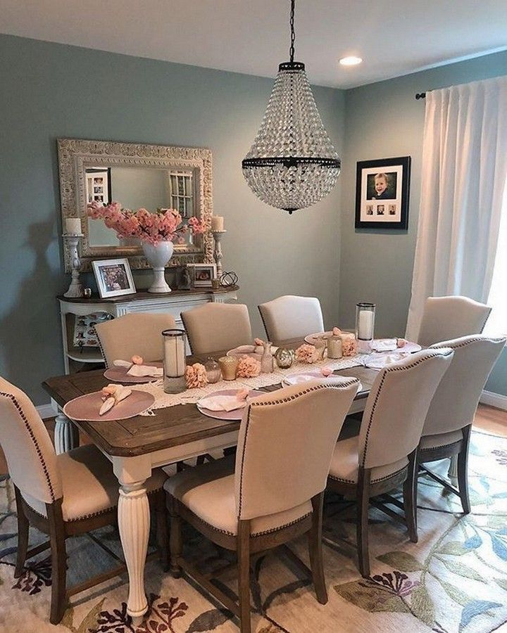 Charming And Cheap Decor Ideas Formal Dining Room: Charming Farmhouse Dining Room Design Ideas In 2020