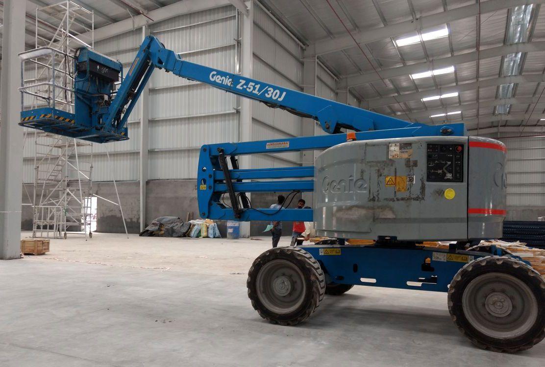Boomlift boom lift aluminium scaffolding rental