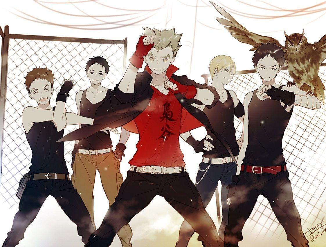 Haikyuu Fukurodani Team Haikyuu Haikyuu Anime Anime