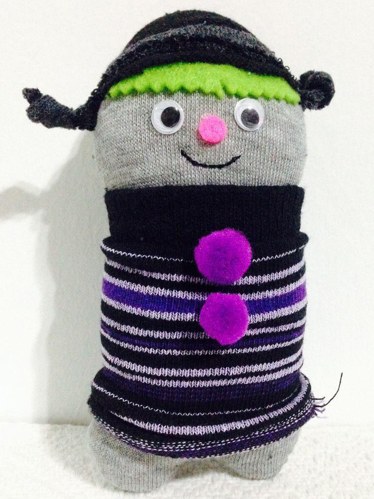 Mawada project : muñecos de calcetín dirigidos por mi sobrino Marco ...