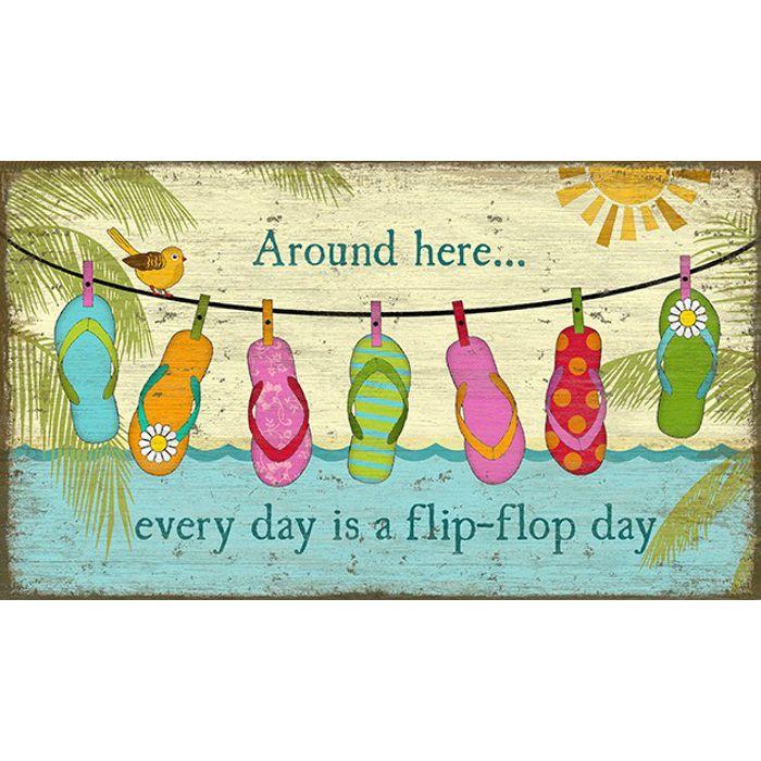 Hanging Flip Flop Wall Art Flip Flop Art Flip Flop Craft