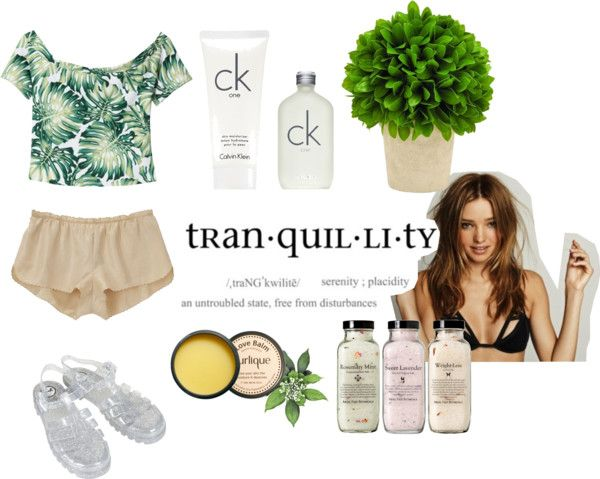 """tran・quil・li・ty ☼"" by lushcra-ve ❤ liked on Polyvore"