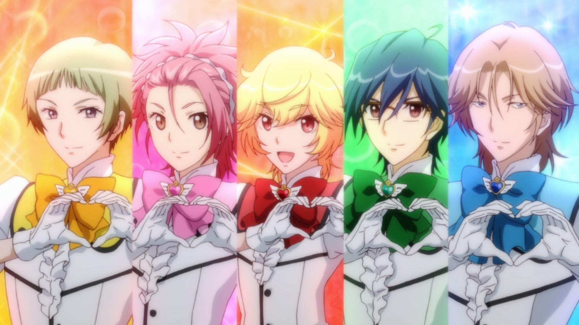 Binan Koukou Chikyuu Bouei Bu Love Magical Boy Anime Magical Girl Anime Anime