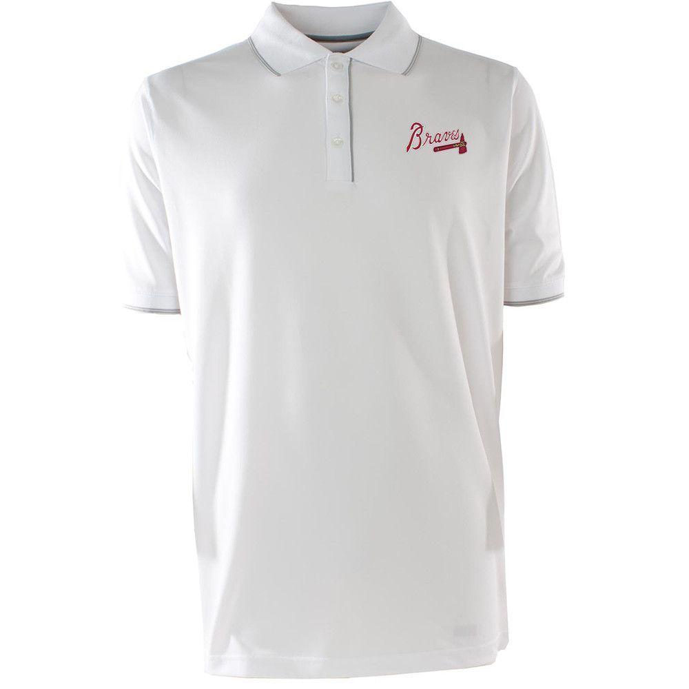 Atlanta Braves Mlb Elite Mens Polo Shirt White Products