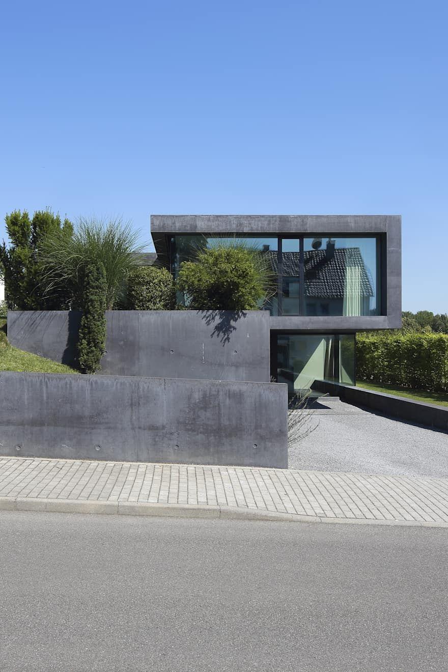 Einfamilienhaus D von Architekturbüro Dongus  | homify #modernegärten