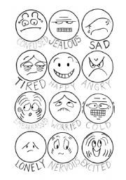 english worksheet how do you feel faces of emotions ideas for school emotions preschool. Black Bedroom Furniture Sets. Home Design Ideas