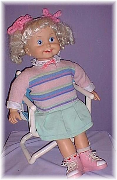 Cricket Doll Same Concept As Teddy Ruxpin I Loved Her When I First Got Her But For Some Reason I Was So Scared Childhood My Childhood Memories Childhood Toys