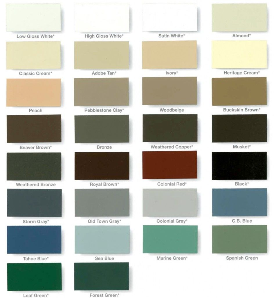 Mastergutter Carry All The Gutters Available Colors You Can Choose The Color You Like Most For Your House Or Cal Gutter Colors How To Install Gutters Gutters