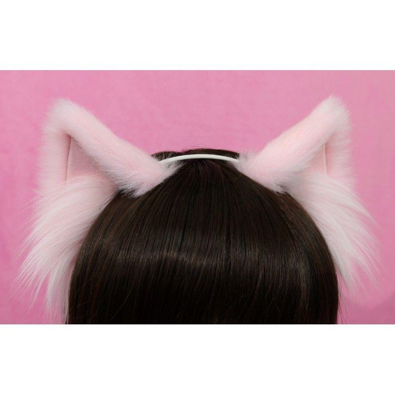 Cosplay Cat Ears Neko Animal Cosplay Ears Headband Kitten Ears Kawaii Ears Kittenplay Ears Headband Cat Neko Ears Fur Neko Cat Ears