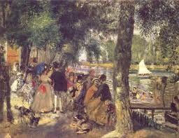 La Grenouilliere, Renoir