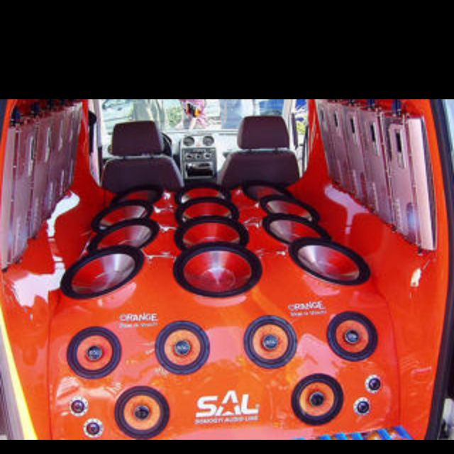 Gallery Of Vehicles With Giant Sound Systems Car Audio Installation Car Audio Sound System Car