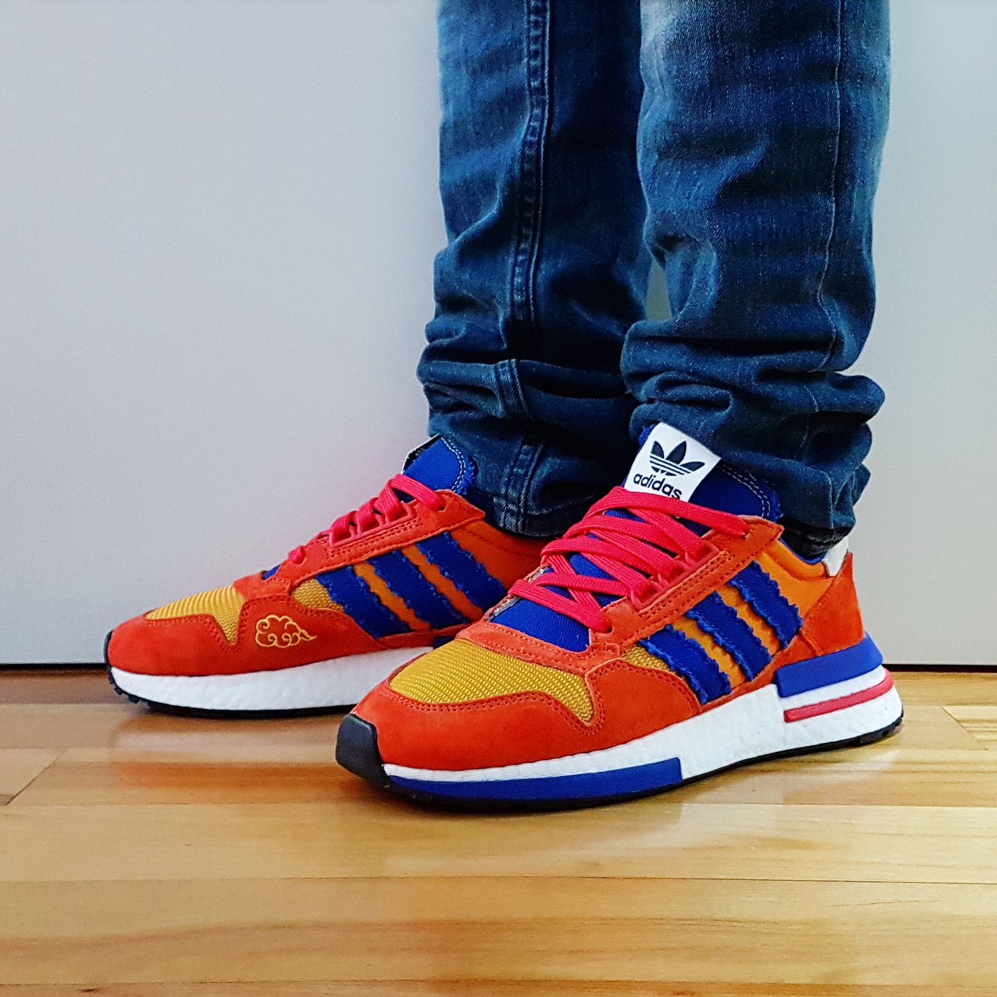sneakers for cheap 15ba7 3b34d Go check out my Dragon Ball Z x adidas ZX 500 RM
