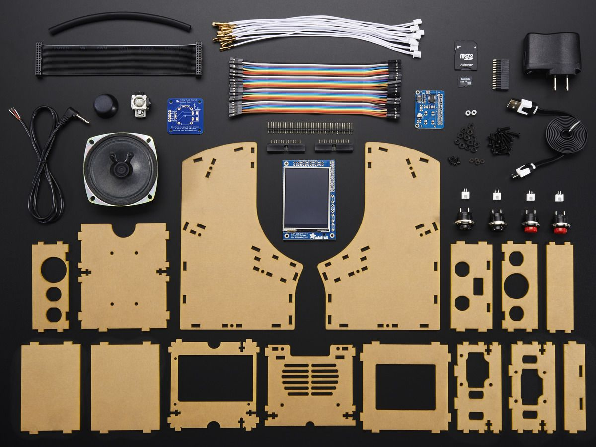 Cupcade: the Raspberry pi Micro Arcade Cabinet Kit   Raspberry Pi ...