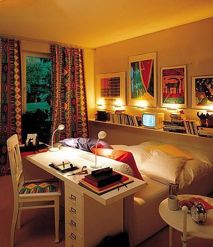 A Desk Or Bed Busy In Bedroom Small Room Design Bedroom Layouts Small Bedroom Layout