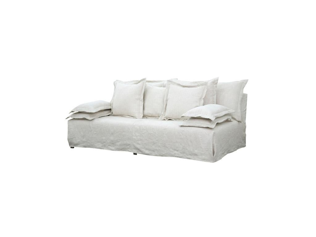 Four Hands Living Room Esquire Bellevue\'s 7\' Sofa Slipcover CSD-0046 ...