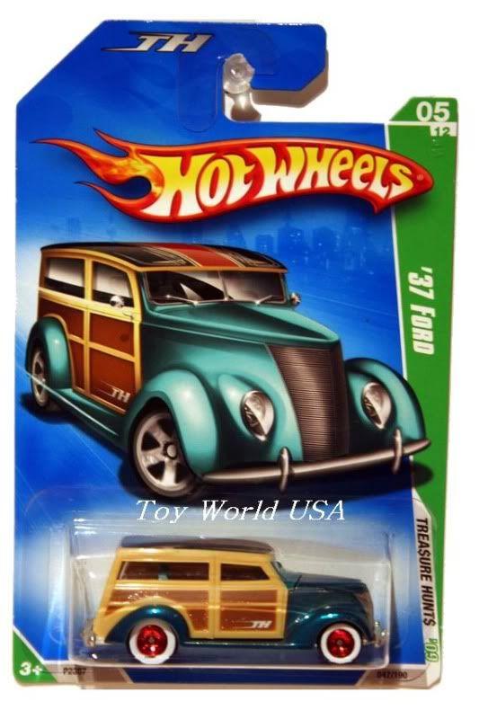 2009 hot wheels treasure hunt 47 39 37 ford super hot. Black Bedroom Furniture Sets. Home Design Ideas