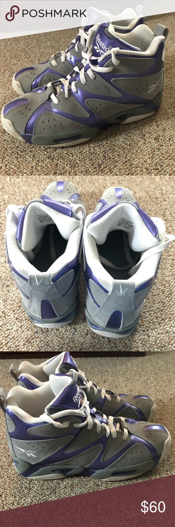 9f71a6ea5c07 Reebok Kamikaze High Top Basketball Shoe This is a very nice pair of Reebok  kamikazes