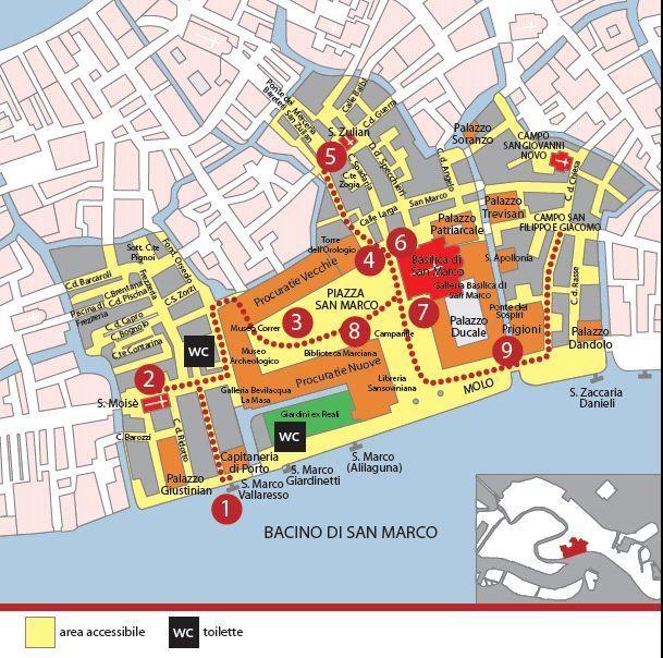 san marco italy map Venice San Marco Area Map Http Www Comune Venezia It Flex Cm
