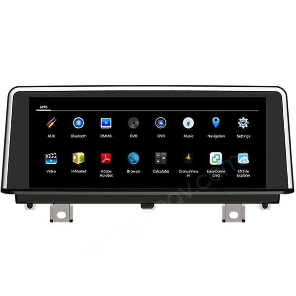 BMW F30 android head unit | Car | Android navigation, Head