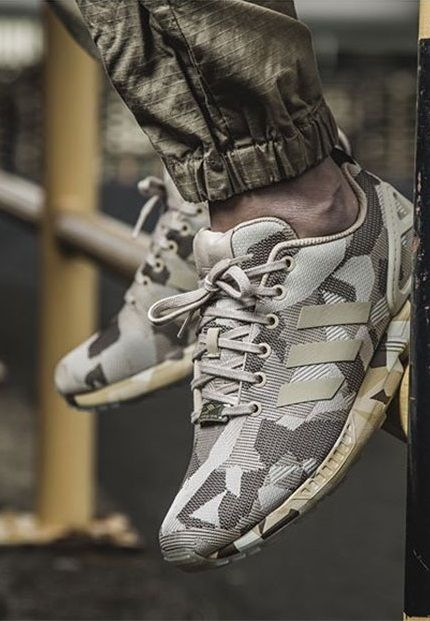 adidas Originals ZX Flux: Camo | Sneakers: adidas ZX Flux