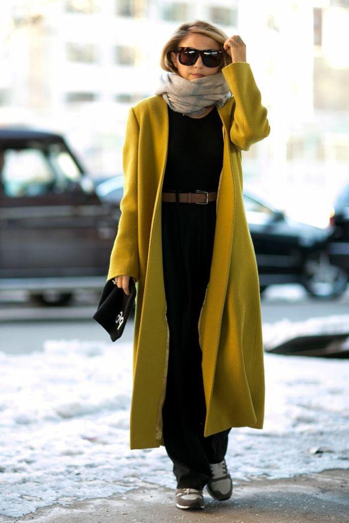 code promo 39067 af563 Choisir le plus élégant manteau long femme parmi les photos ...