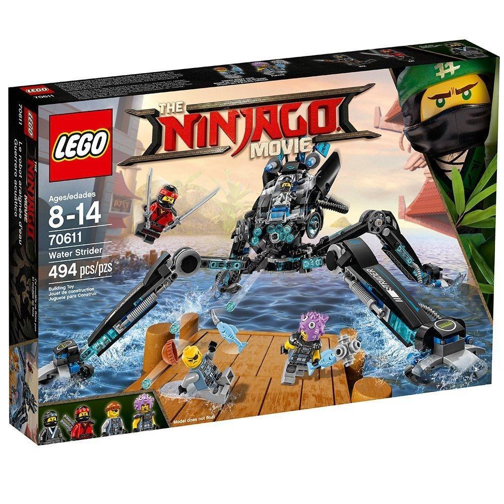 Lego Ninjago Movie Water Strider 70611 Building Kit 494 Piece