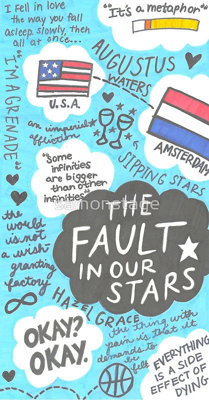 """The Fault in Our Stars Collage - 90.1KB"