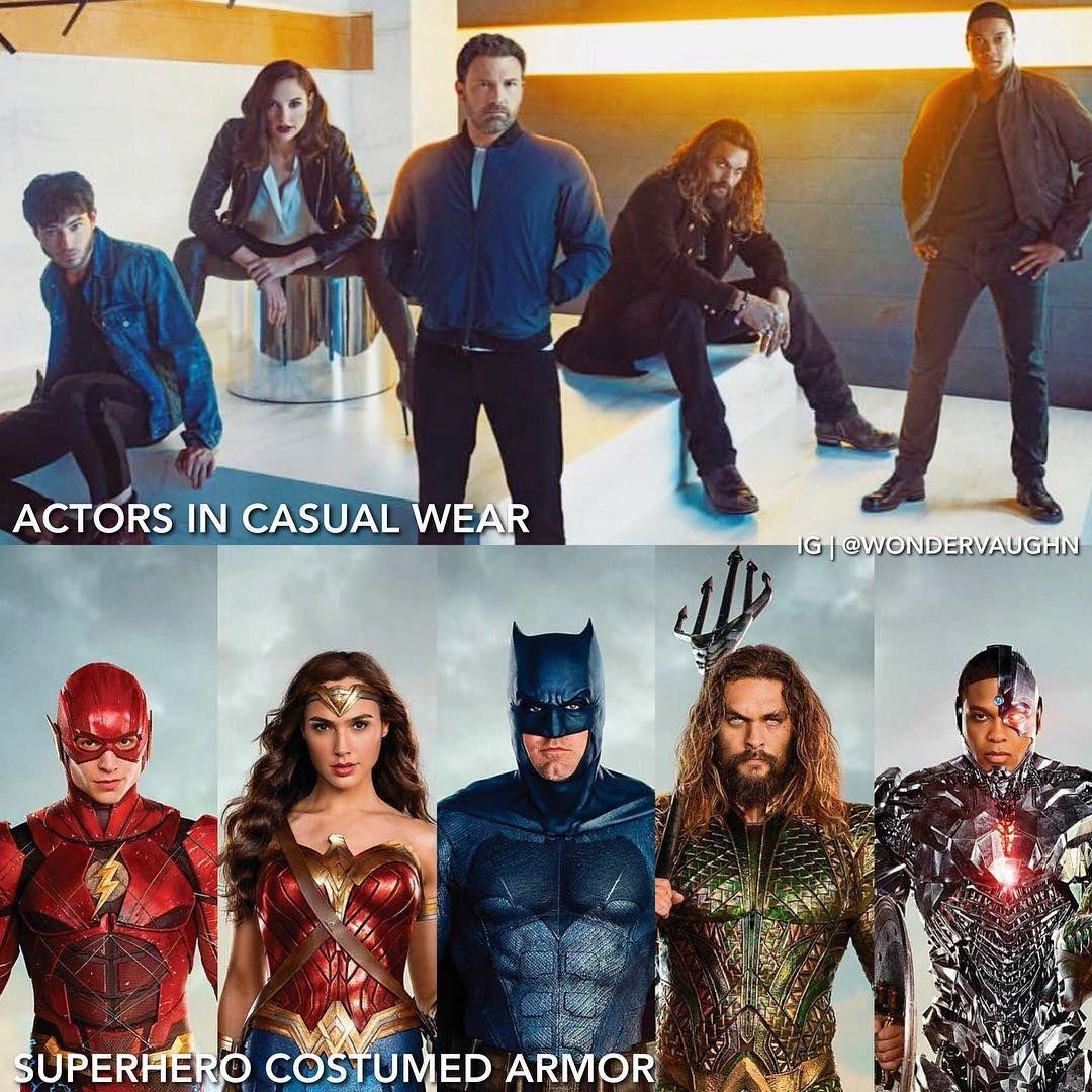 15 3k Likes 38 Comments Gal Gadot Is Wonder Woman Wondervaughn On Instagram The Fab Five Justice League Aquaman Justice League Cast Black Adam Shazam