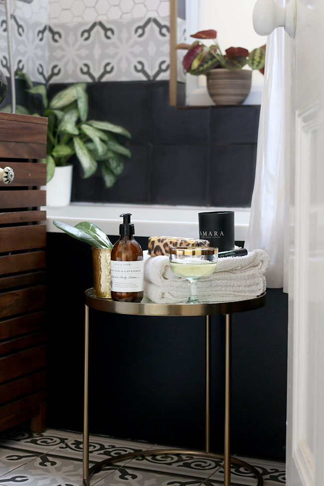 Side Table Styling Bathroom 1