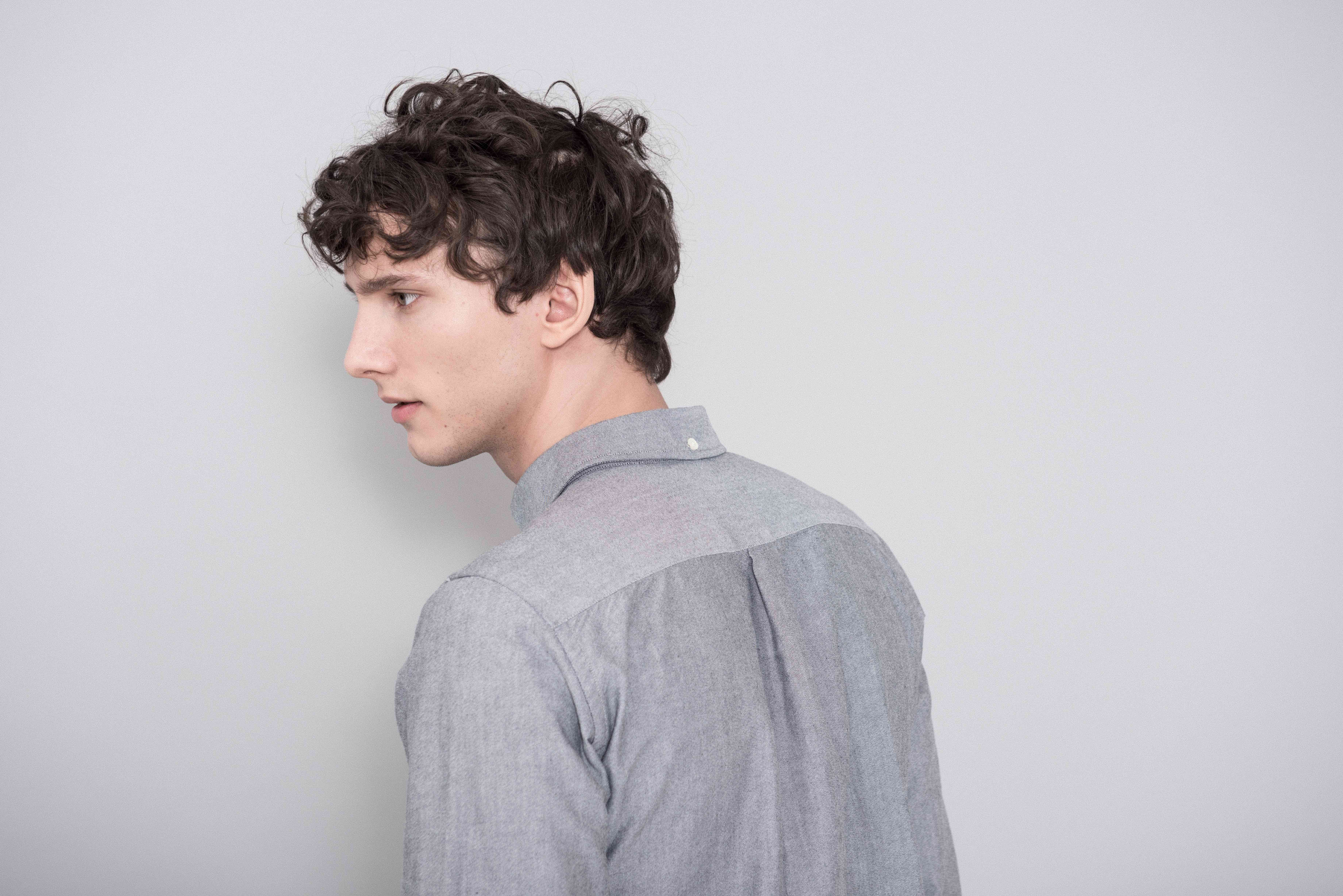 d90771d45d2 The Asket Oxford Shirt in Grey
