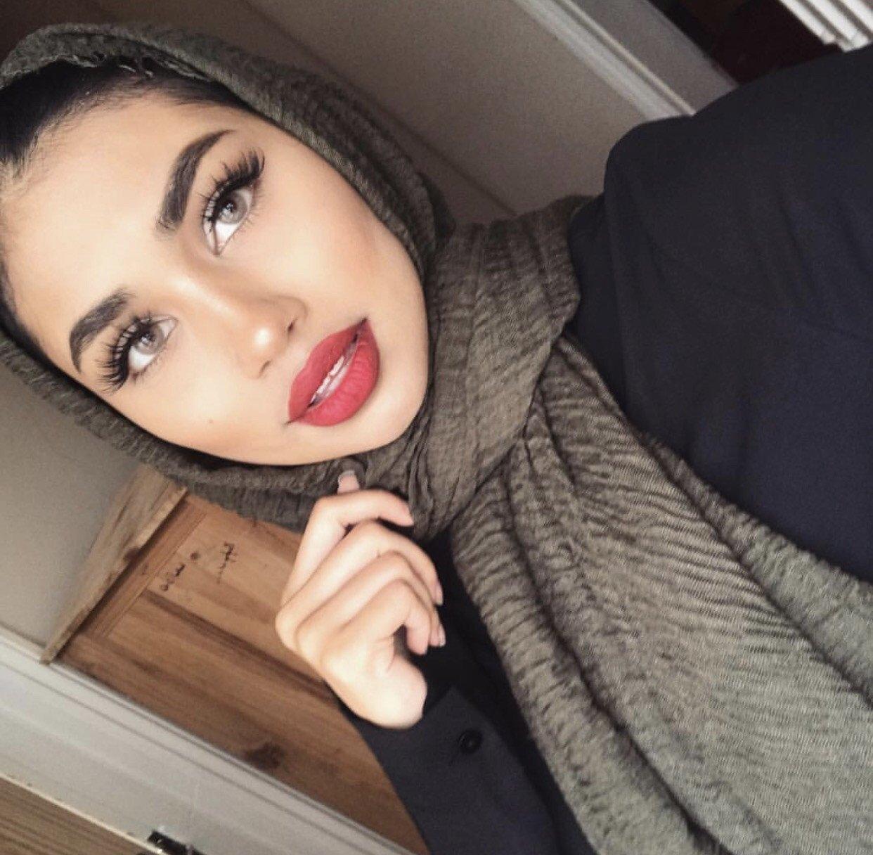 rippled hijab - olive green #33