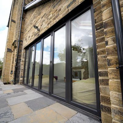 Anthracite Grey Bifold Doors & Anthracite Grey Bifold Doors | Bi fold doors | Pinterest | Bi fold ...