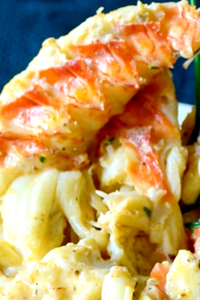 Creamy Lobster Mashed Potatoes  #seafooddishes