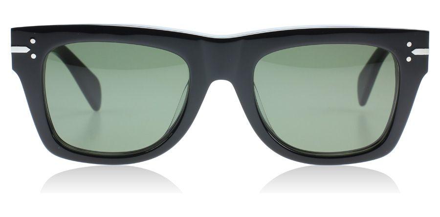 ff39a9542df4 Celine Classic Sunglasses : Classic Black 807 : UK ...