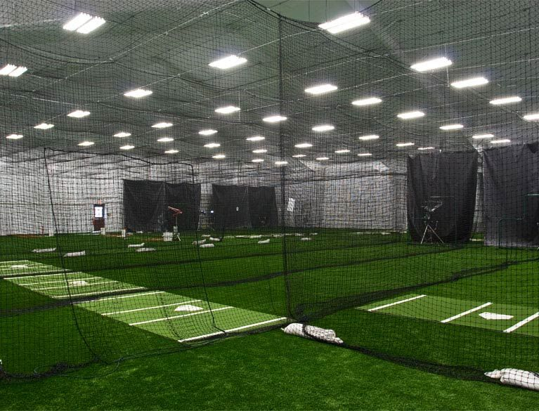Indoor Batting Cages Indoor batting cage, Batting cages
