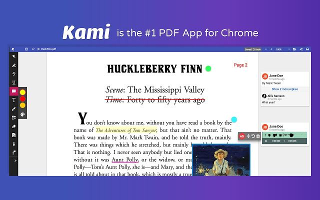Best Pdf And Document Annotation And Markup Tool Works With Google Drive And Google Classroom Paperless Classroom Education Teaching Technology